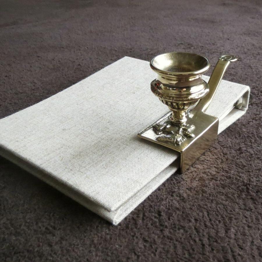 燭台1灯ホース 真鍮製品金色 ブラス イタリア製アンティーク調雑貨キャンドルスタンド|brass-alivio|04