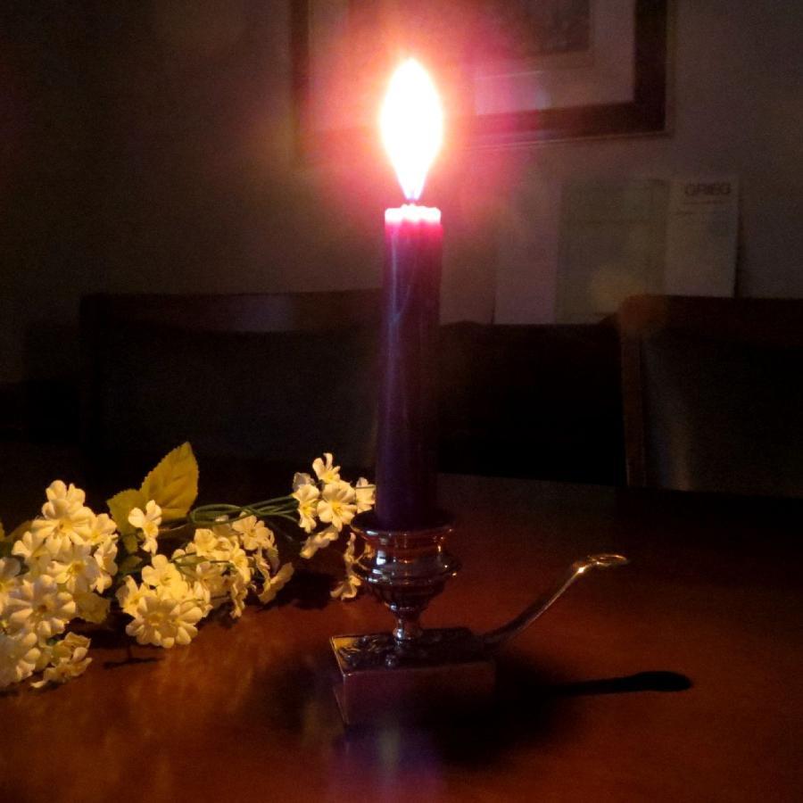 燭台1灯ホース 真鍮製品金色 ブラス イタリア製アンティーク調雑貨キャンドルスタンド|brass-alivio|05