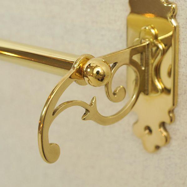 タオルハンガーC30 真鍮製品金色 ブラス イタリア製アンティーク調雑貨|brass-alivio|03