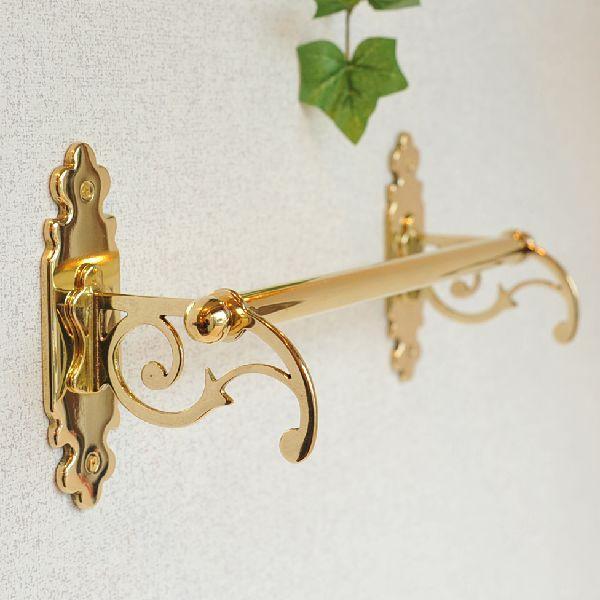 タオルハンガーC30 真鍮製品金色 ブラス イタリア製アンティーク調雑貨|brass-alivio|05