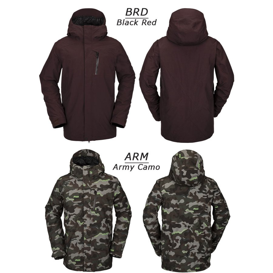 18 19 VOLCOM/ボルコム L GORE TEX jacket メンズ スノーウェア