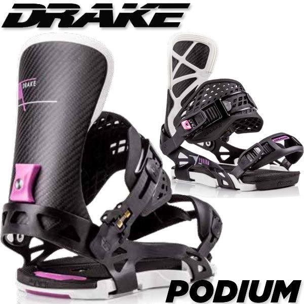 19-20 DRAKE/ドレイク PODIUM ポディウム メンズ ビンディング バインディング スノーボード 予約商品 2020