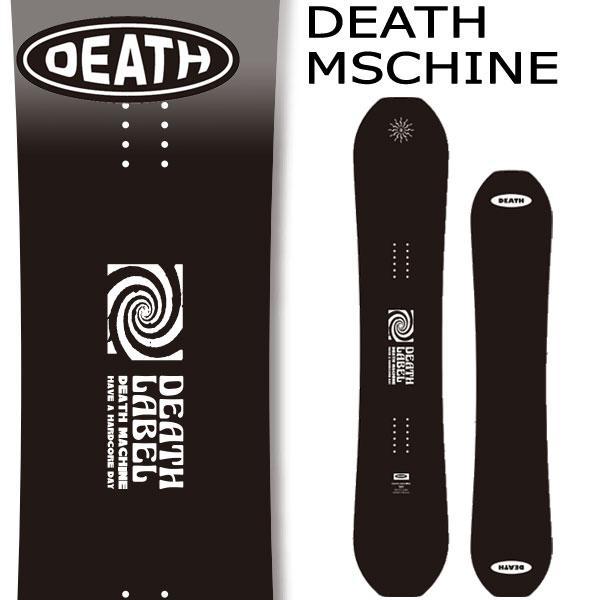 21-22 DEATH LABEL デスレーベル セール特別価格 MACHINE デスマシーン スノーボード 2022 激安☆超特価 板 メンズ グラトリ 予約商品