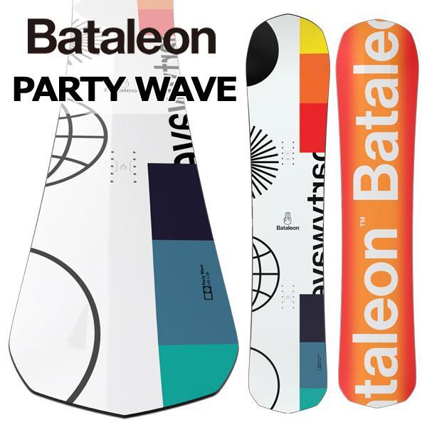 【本物保証】 19-20 BATALEON/バタレオン PARTY WAVE WAVE パーティーウェイブ 2020 メンズ 板 PARTY スノーボード 2020, ナガハマシ:f8271ff6 --- airmodconsu.dominiotemporario.com