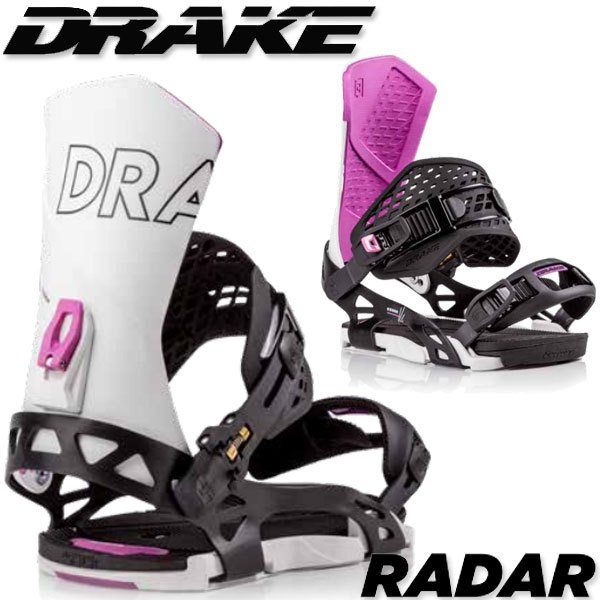 19-20 DRAKE/ドレイク RADAR レーダー メンズ ビンディング バインディング スノーボード 予約商品 2020