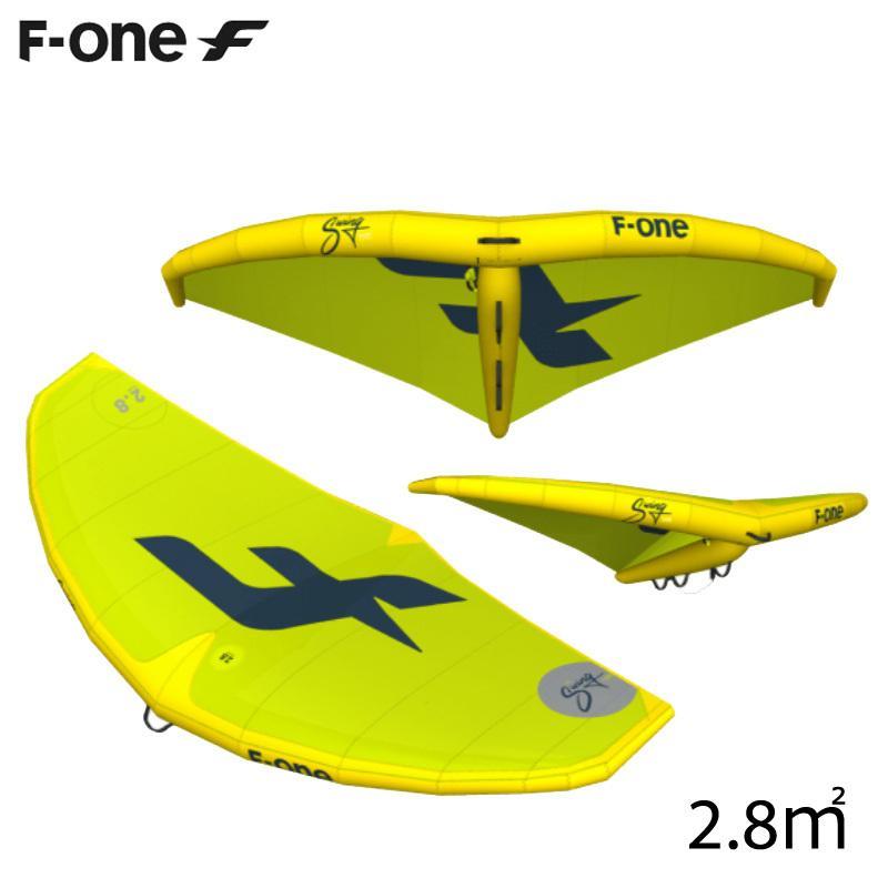 F-ONE エフワン SWING 2.8平米 エスウイング サーフウイング カイトウイング ウイングサーフィン WINGSURF 2019 予約商品
