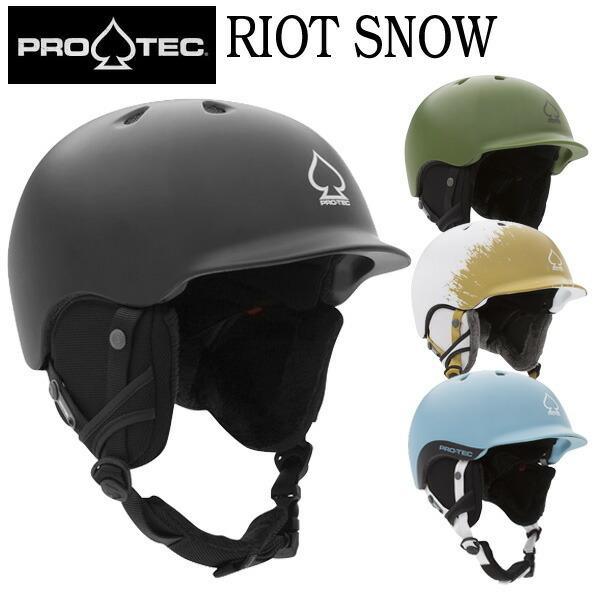 PRO-TEC/プロテック RIOT SNOW HELMETS リオットスノーヘルメット スケート スキー メンズ レディース キッズ プロテクター 19-20