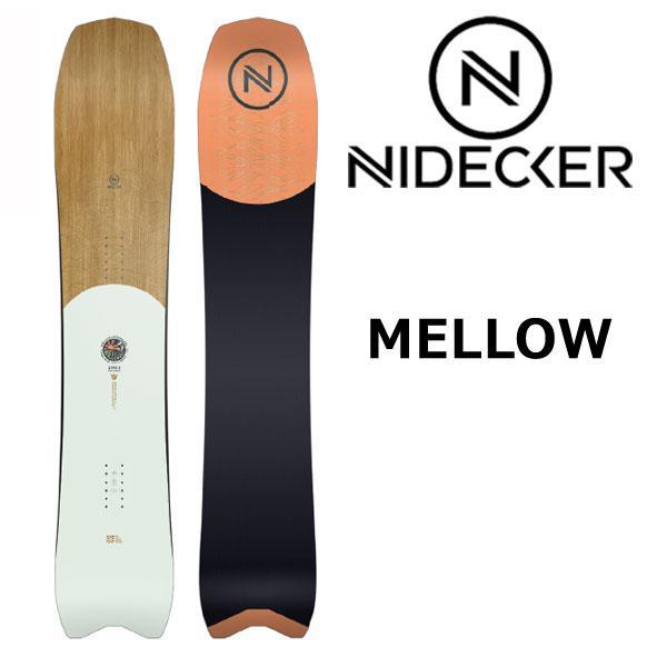 19-20 NIDECKER / ナイデッカー ニデッカー SPECTRE CARBON スペクターカーボン メンズ 板 スノーボード 2020