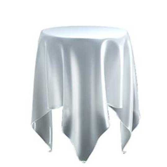 essey Illusion Iceテーブルスクロスを広げたかの様なやわらかなフォルムのサイドテーブルハンドメイドテーブルお取り寄せ商品デザイナーズ家具 インテリア