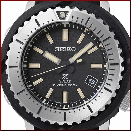 SEIKO セイコー ソーラー時計 PROSPEX プロスペックス ダイバーズウォッチ メンズ腕時計 ブラックラバーベルト 海外モデル SNE541P1|bright-bright|04