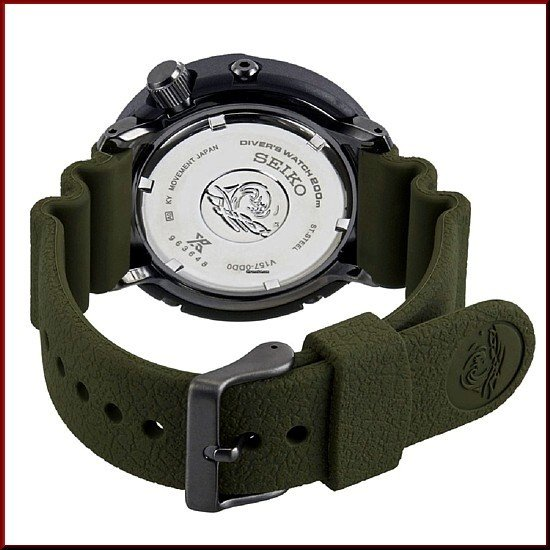 SEIKO セイコー ソーラー時計 PROSPEX プロスペックス ダイバーズウォッチ メンズ腕時計 グリーンラバーベルト 海外モデル SNE543P1|bright-bright|03