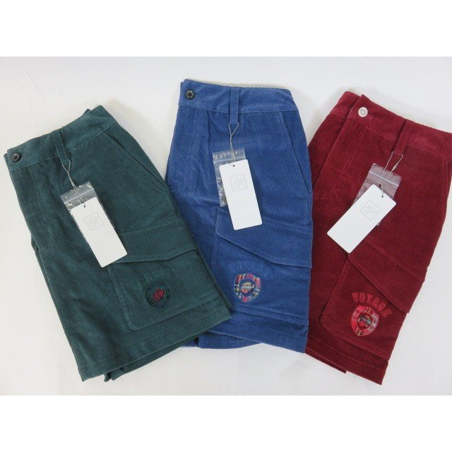 【ゾイ】【ZOY】レデース スカート(インナーパンツ付き) 38306 15:エンジ 65:グリーン系 83:ブルー系 38/40サイズ