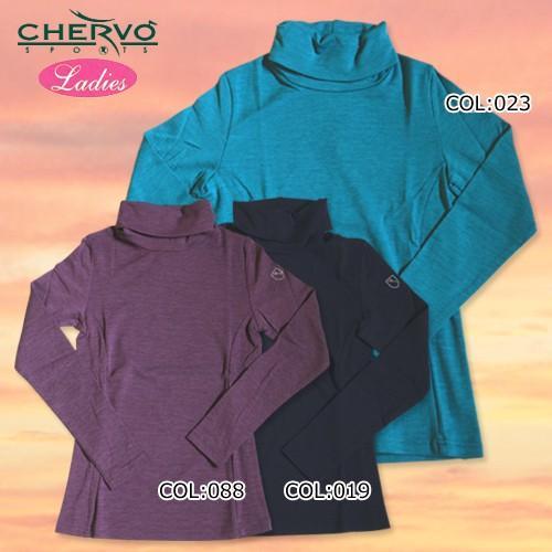 【シェルボ】【CHERVO】 032-26111 レディース ハイネックインナー