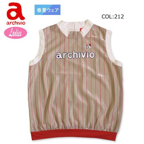 【アルチビオ】【archivio】A755233 レディース ノースリーブシャツ