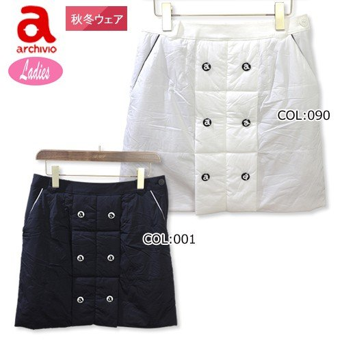 アルチビオ archivio A816024 レディース スカート 蓄熱スカート