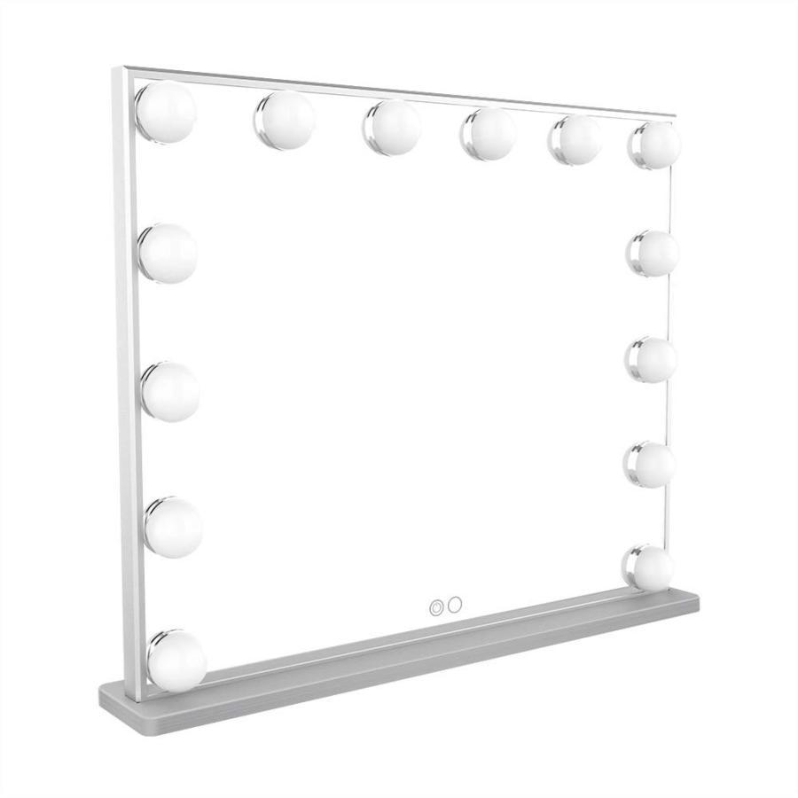 Meetop 女優化粧鏡 ハリウッドミラー 14個ledライト付き 2色調
