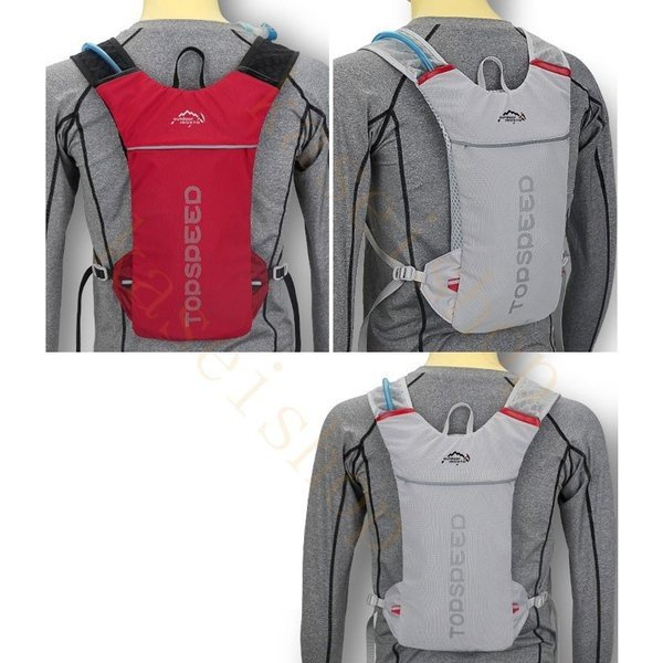 ランニングバッグ リュック 撥水加工 ハイドレーション サイクリングバッグ サイクルバッグ アウトドア 大容量 ジョギング 超軽量 ユニセックス バッグ|brilliantendless|08