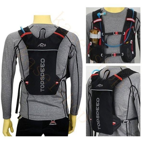 ランニングバッグ リュック 撥水加工 ハイドレーション サイクリングバッグ サイクルバッグ アウトドア 大容量 ジョギング 超軽量 ユニセックス バッグ|brilliantendless|10