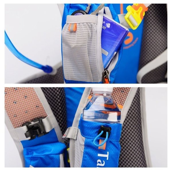 リュックサック メンズ レディース ランニングバッグ 軽量 アウトドア バッグ マラソン サイクリング 大容量 カジュアル 給水ポケット付き 撥水加工 旅行 登山 brilliantendless 17