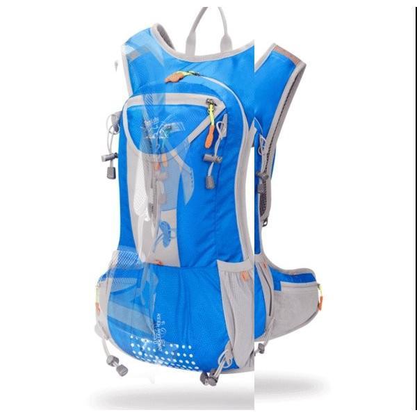 リュックサック メンズ レディース ランニングバッグ 軽量 アウトドア バッグ マラソン サイクリング 大容量 カジュアル 給水ポケット付き 撥水加工 旅行 登山 brilliantendless 20