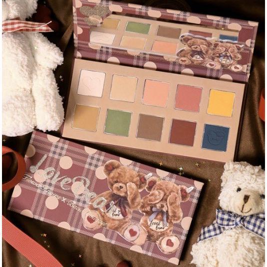 Flowerknows(フラワーノーズ) LoveBear 10色アイシャドウパレット :6970643191196:ブリリアントプラス - 通販 -  Yahoo!ショッピング