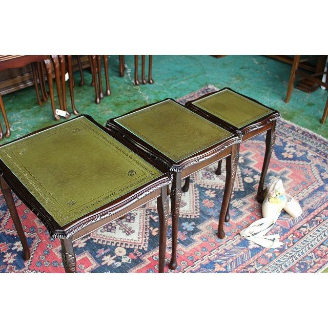 イギリスアンティーク家具 ネストテーブル コーヒーテーブル n198-2 英国製1960年頃 送料無料