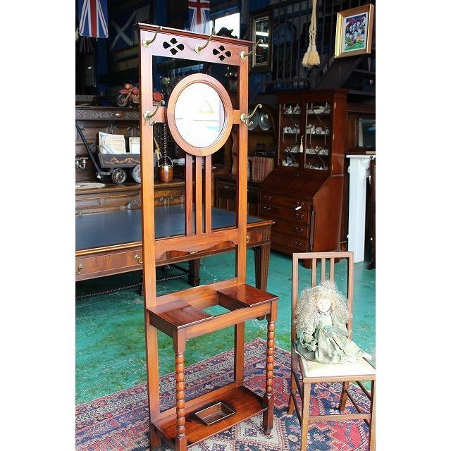 イギリスアンティーク家具 ホールスタンド 玄関スタンド 傘立てスタンド n72 英国製1910年頃 送料無料
