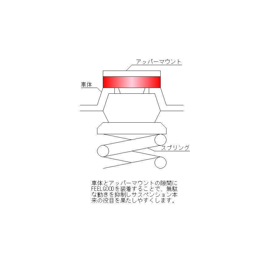 FEELGOODヴィッツ(130系)の乗り心地改善!ハンドリングUP!!|broadfactory|06