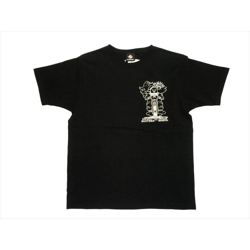 NAITIVE GANG FAMILY×ゴーストバスターズ Tシャツ NGF14-591 プリント「マシュマロマン」半袖Tシャツ ブラック bros-clothing 03