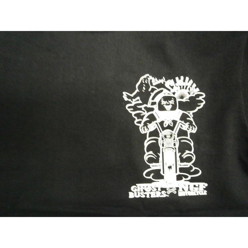 NAITIVE GANG FAMILY×ゴーストバスターズ Tシャツ NGF14-591 プリント「マシュマロマン」半袖Tシャツ ブラック bros-clothing 04
