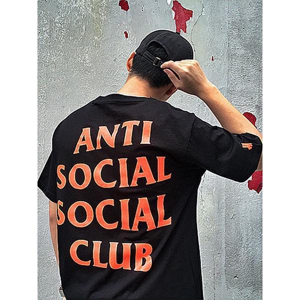 Anti Social Social Club Tシャツ レディース メンズ 半袖 アンチソーシャルソーシャルクラブ Undefeated PARANOID TEE アンディフィーデット PARANOID-T-B|bros