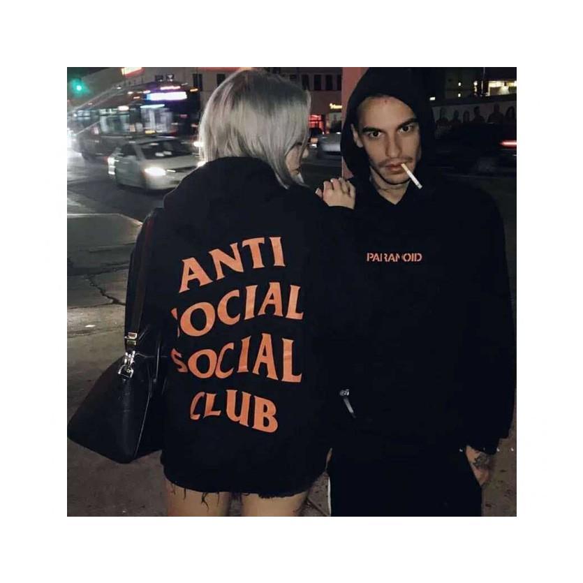 Anti Social Social Club Tシャツ レディース メンズ 半袖 アンチソーシャルソーシャルクラブ Undefeated PARANOID TEE アンディフィーデット PARANOID-T-B|bros|09