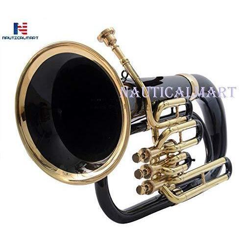 Bb Euphonium 3 Valve - Black Musical Instrument Gift