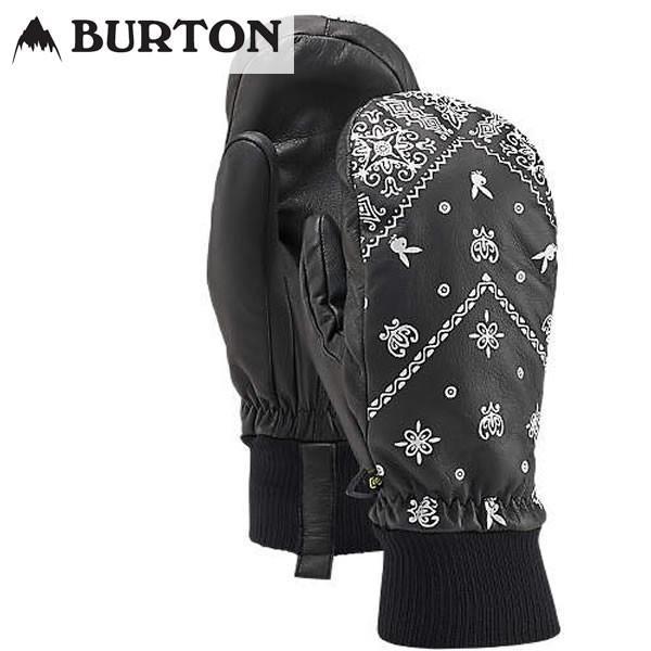 16-17 BURTON グローブ PLAYBOY MITT 17485100: True 黒 正規品/スノーボードウエア/バートン/メンズ/ミット/ミトン/snow