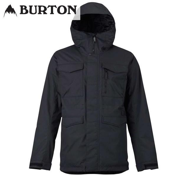 18-19 BURTON ジャケット Covert Jacket 13065103: True 黒 正規品/メンズ/スノーボードウエア/ウェア/バートン/snow