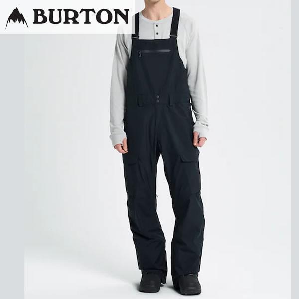 18-19 BURTON パンツ GORE-TEX Reserve Bib Pant 20554100: True 黒 正規品/バートン/スノーボードウエア/ウェア/メンズ/snow