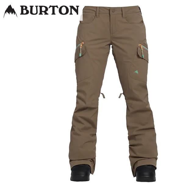 18-19 レディース BURTON パンツ Women's Burton GORE-TEX Gloria Pant 20556100: FALCON 正規品/スノーボードウエア/バートン/snow/スノボ