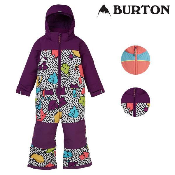19-20 子供用 BURTON ワンピース Toddler Striker One Piece 11573104: 正規品/バートン/スノーボードウエア/ジュニア/キッズ/ガールズ/snow