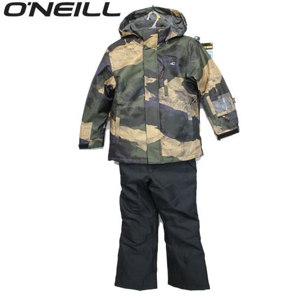 18-19 O'NEILL 子供用 ジャケット&パンツセット 648-603: cam 正規品/オニール/スノーボードウエア/スキー/648603/キッズ/ジュニア/snow