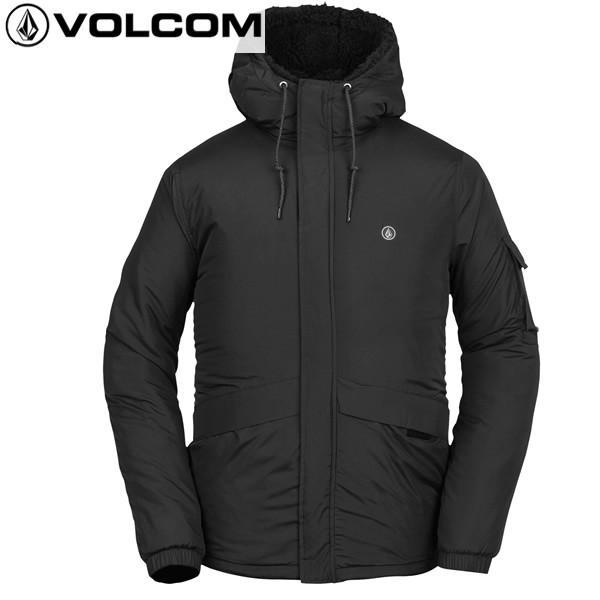 18-19 VOLCOM ジャケット MORZINSKI JACKET a1631806: BLK 正規品/メンズ/ボルコム/スノーボードウエア/snow