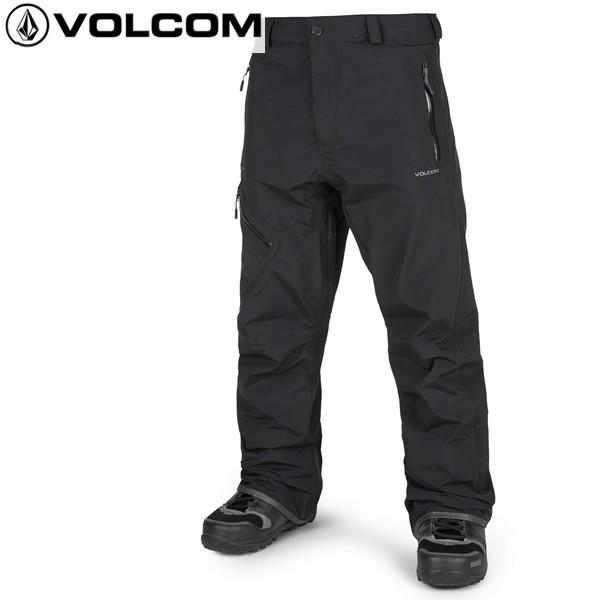 18-19 VOLCOM パンツ L GORE-TEX Pant g1351904: blk 正規品/ボルコム/メンズ/スノーボードウエア/ウェア/snow