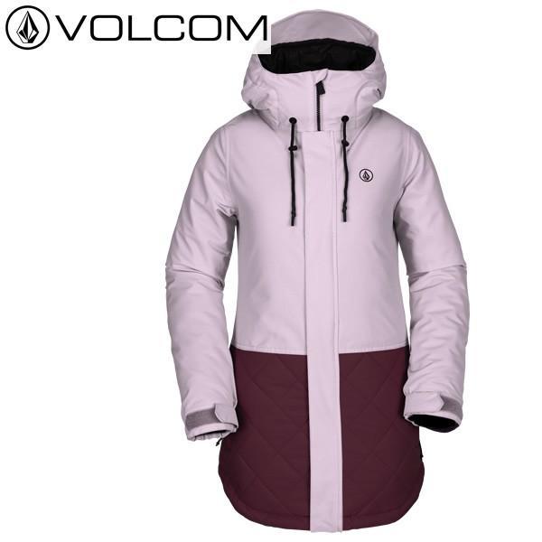 18-19 レディース VOLCOM ジャケット Winrose Ins Jacket h0451907: ros 正規品/ボルコム/スノーボードウエア/ウェア/snow