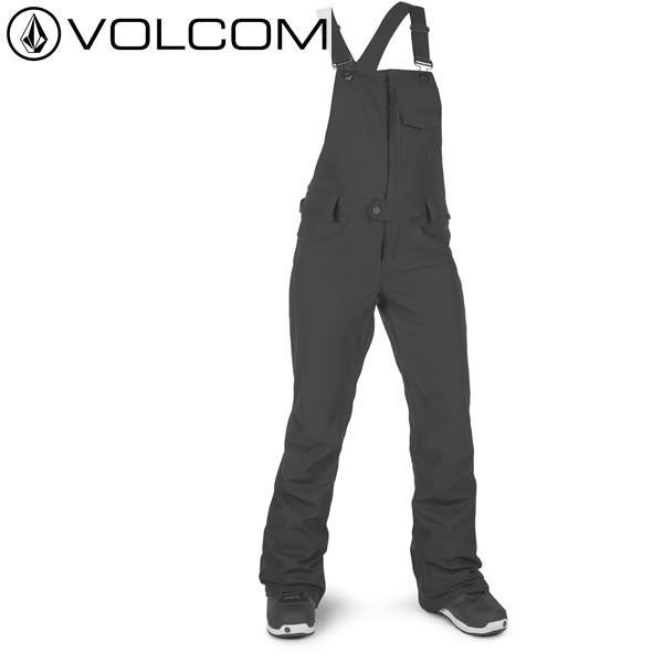 18-19 レディース VOLCOM パンツ Swift Bib Overall h1351903: blk 正規品/ボルコム/スノーボードウエア/ウェア/snow