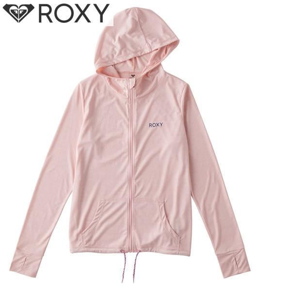 18SP ROXY ラッシュガード NEO RAINBOW rly181016: pnk 正規品/ロキシー/レディース/水着/長袖/パーカー/surf