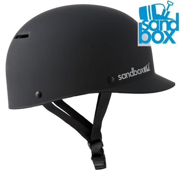 19-20 SANDBOX ヘルメット CLASSIC 2.0 LOW RIDER: BLK 正規品/サンドボックス/メンズ/スノーボード/スキー/スノボ/snow