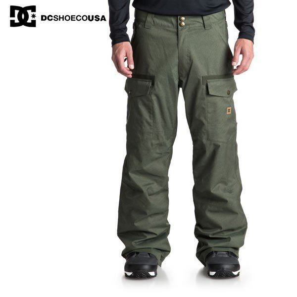 18-19 DC パンツ CODE SNOW PANTS edytp03035: 正規品/メンズ/スノーボードウエア/ウェアスノボ//snow