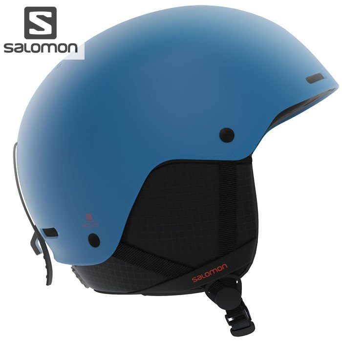 18-19 SALOMON ヘルメット BRIGADE L40537000 :Turkish Tile 正規品/サロモン/メンズ/HELMET/スキー/スノーボード/snow