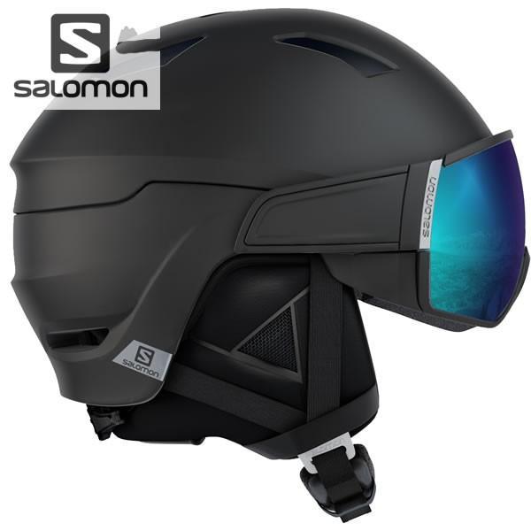 19-20 SALOMON ヘルメット DRIVER L39919400 :ALL 黒 正規品/サロモン/メンズ/HELMET/スキー/スノーボード/snow/スノボ