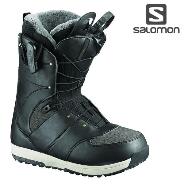 18-19 レディース SALOMON ブーツ IVY L40223400: 黒 正規品/サロモン/スノーボード/靴/アイビー/snow