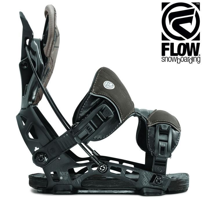 19-20 FLOW バインディング NX2-GT FUSION: CHARCOAL 正規品/フロー/メンズ/スノーボード/ビンディング/フュージョン/snow